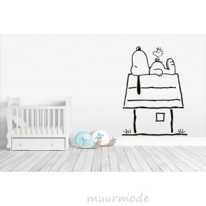 Muursticker Snoopy