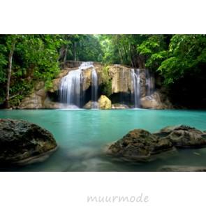 Tuinposter Watervallen Thailand