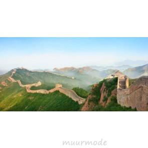 Vlies fotobehang Grote muur in China