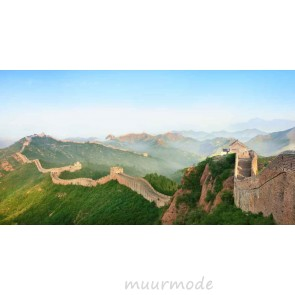 Tuinposter Grote muur in China