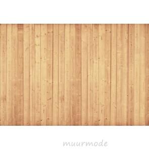 Vlies fotobehang Houten Muur