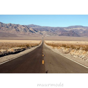 Vlies fotobehang Highway California