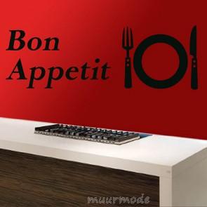 Tekststicker Bon Appetit