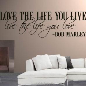 Tekststicker love life