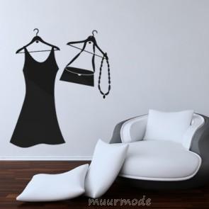 Muursticker Mode Accessoires