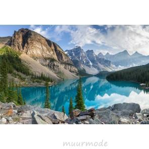 Tuinposter Morain lake