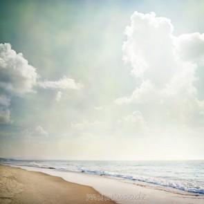 Vlies fotobehang Strandzicht vintage