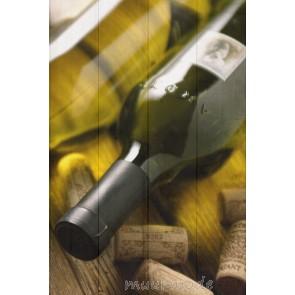 Foto Wijn op hout