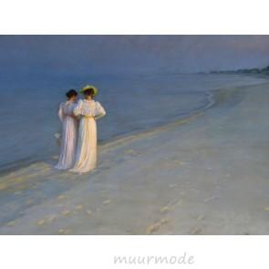 Canvas schilderij Zomeravond