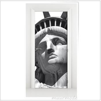 Deursticker Vrijheidsbeeld