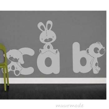 Babykamer sticker 02