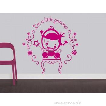 Babykamer sticker Little Princess