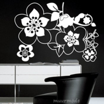 Muursticker Flowers 24