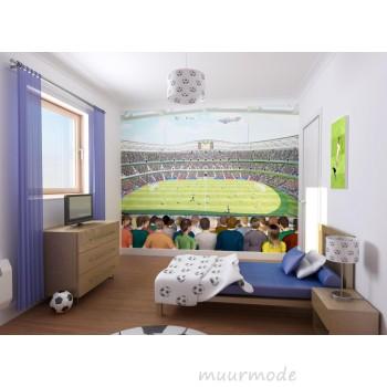 een voetbalstadium in je kamer
