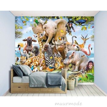 Walltastic Jungle Safari XXL