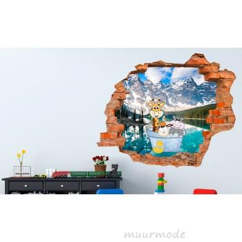 3D muursticker