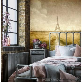 Vlies fotobehang Vintage Parijs