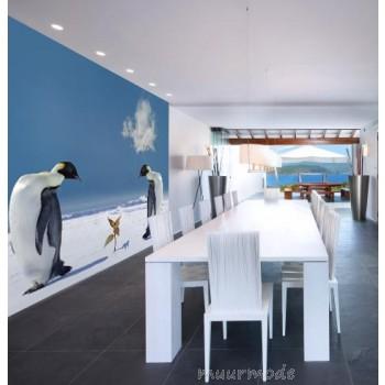 Vlies fotobehang Pinguins