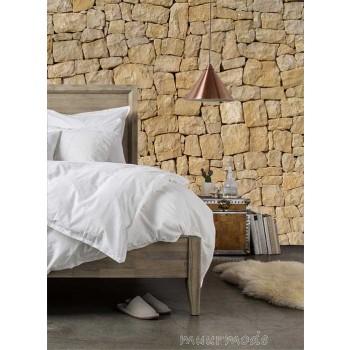 Rustieke stenen muur