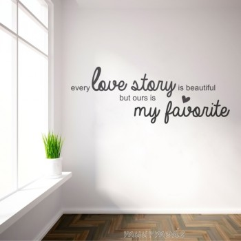 Tekststicker Every Love Story