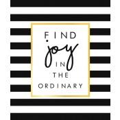 Tekst op canvas Joy
