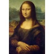 Canvas schilderij Mona Lisa
