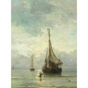 Canvas schilderij Kalme zee