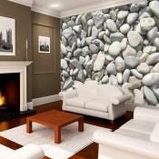 Vlies fotobehang Witte Stenen