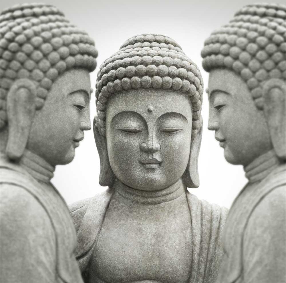 tuinposter boeddha beelden muurmodenl