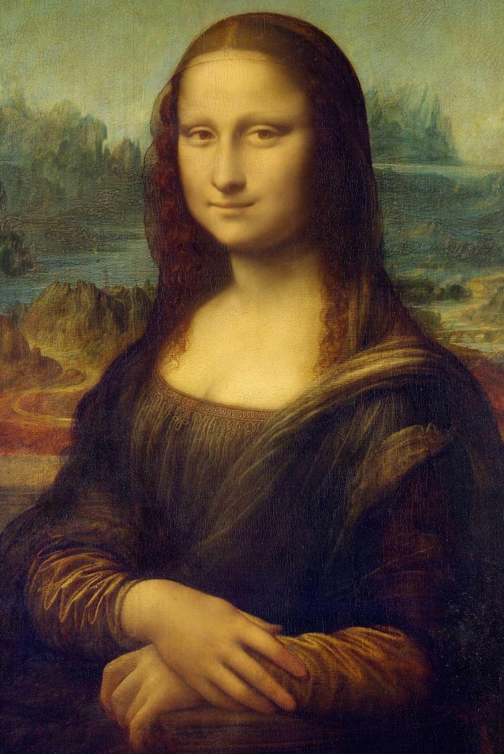 Canvas Mona Lisa