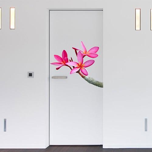 Deurposter bloem