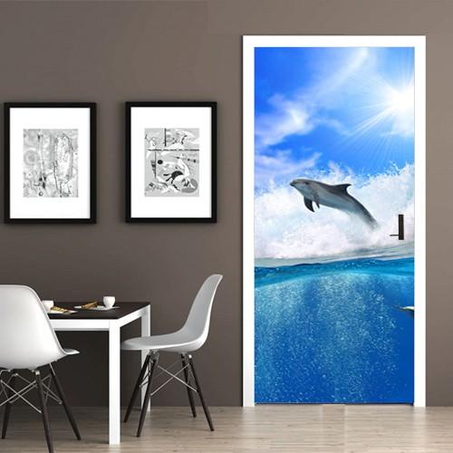 Deurposter dolfijn