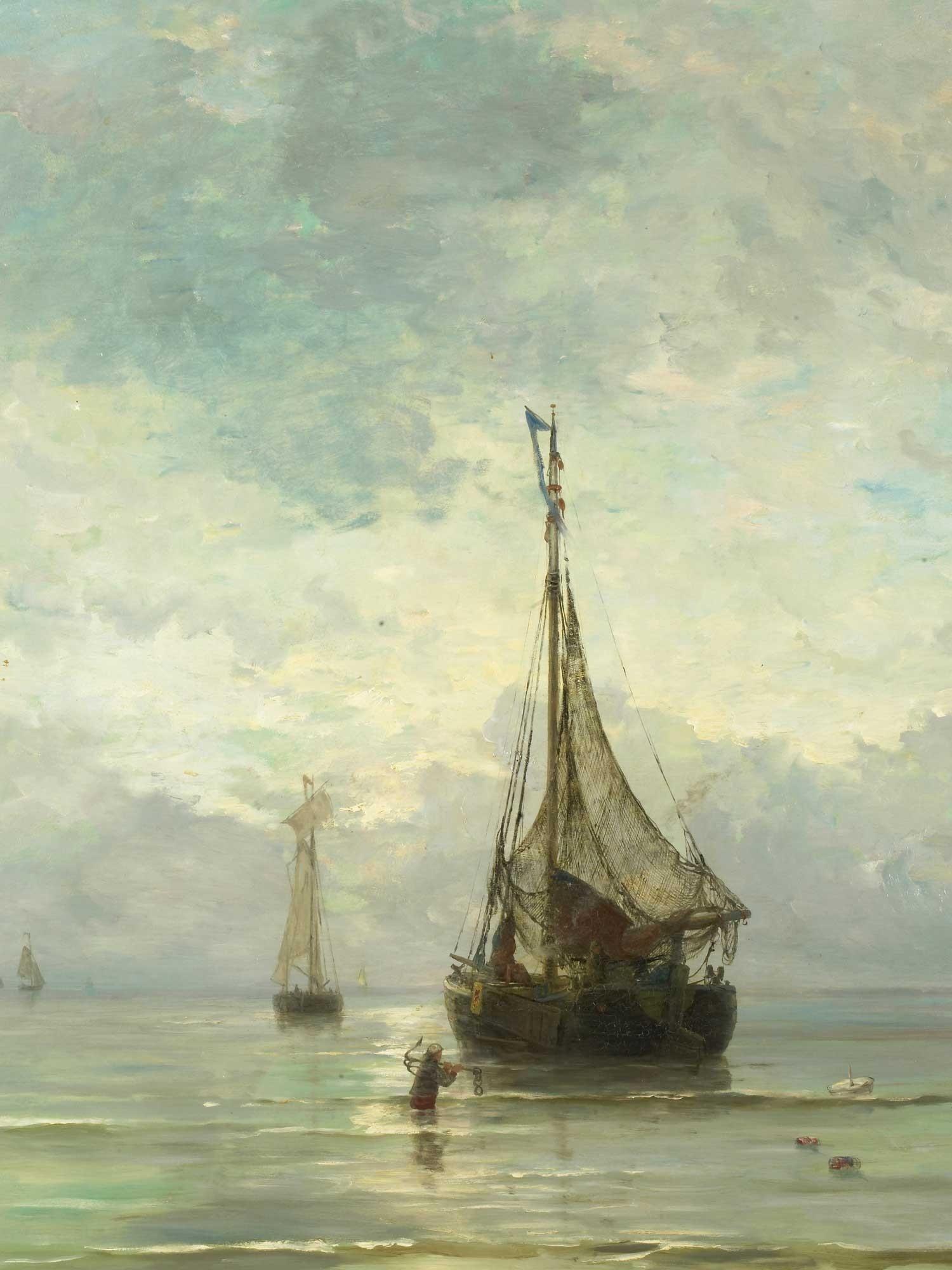 Kalme zee Mesdag