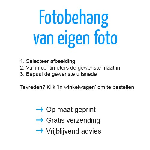 upload foto fotobehang