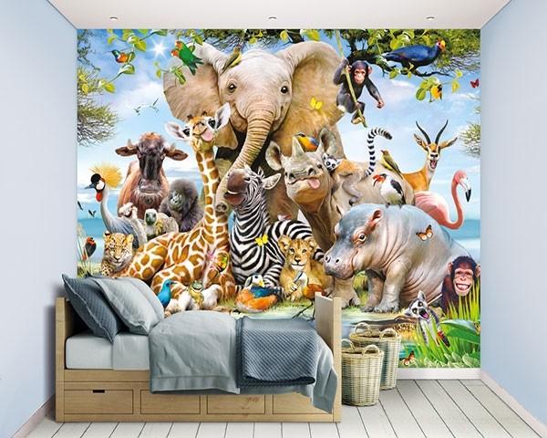 Walltastic Jungle Safari
