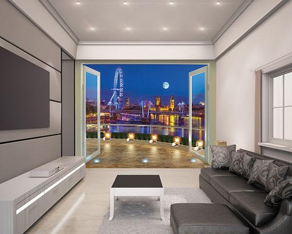 Fotobehang Skyline Londen