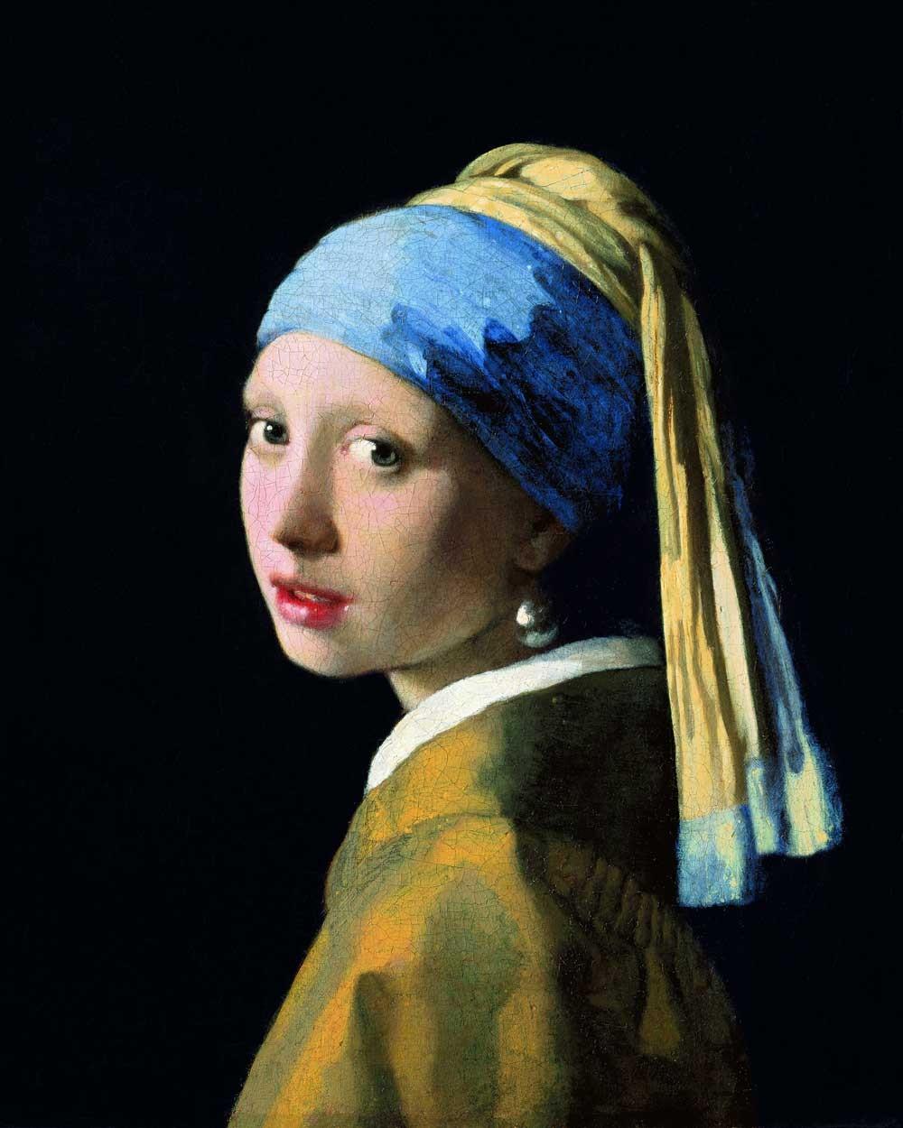 Canvas meisje met de parel