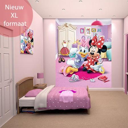 Walltastic disney minnie mouse xl walltastic behang - Volwassen kamer decoratie model ...