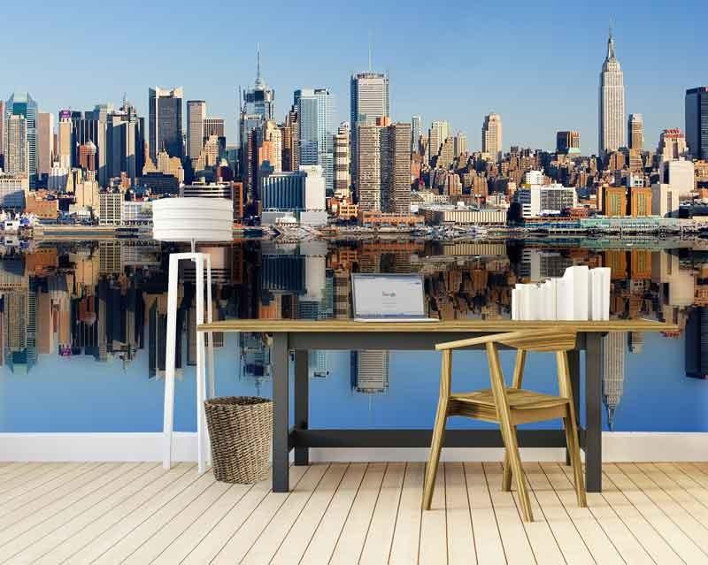 Vlies fotobehang New York