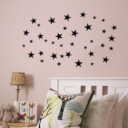 sterren sticker vel