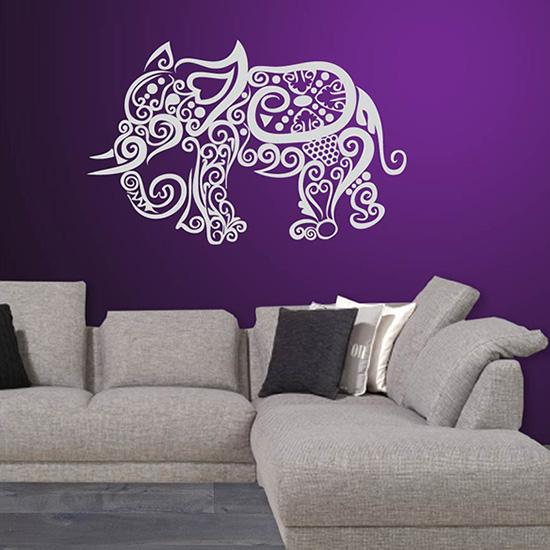 Interieursticker Sierlijke olifant