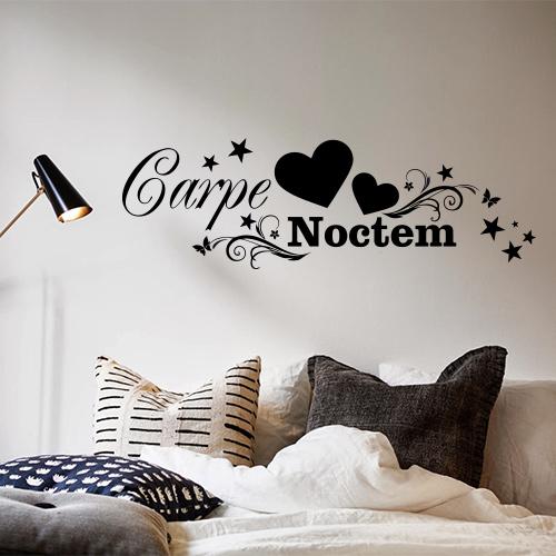 Tekststicker Carpe Noctem