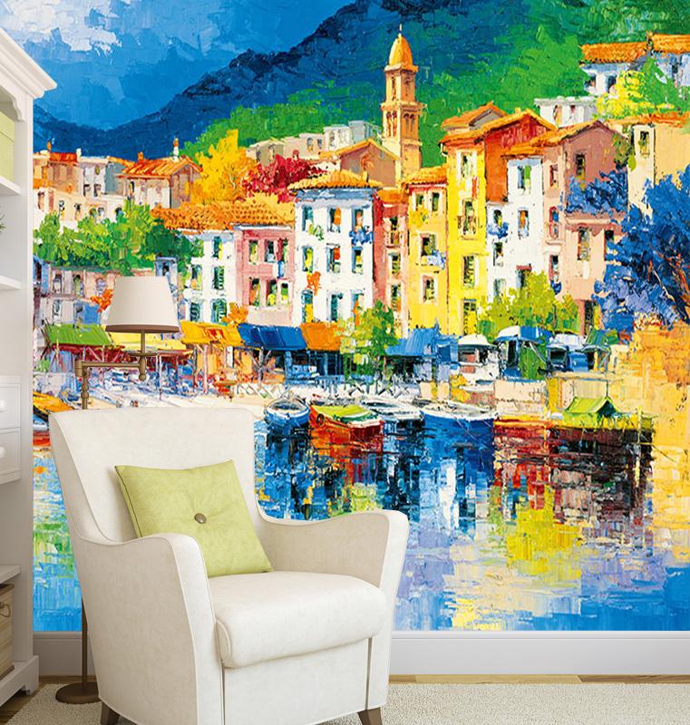Fotobehang Riviera Ligure