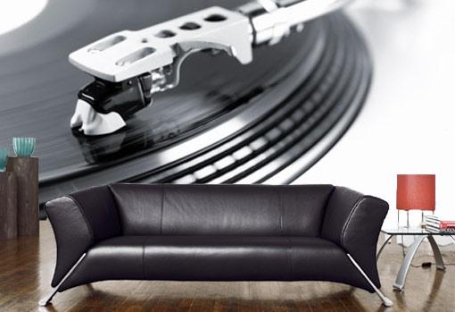 Vlies fotobehang Feel the music