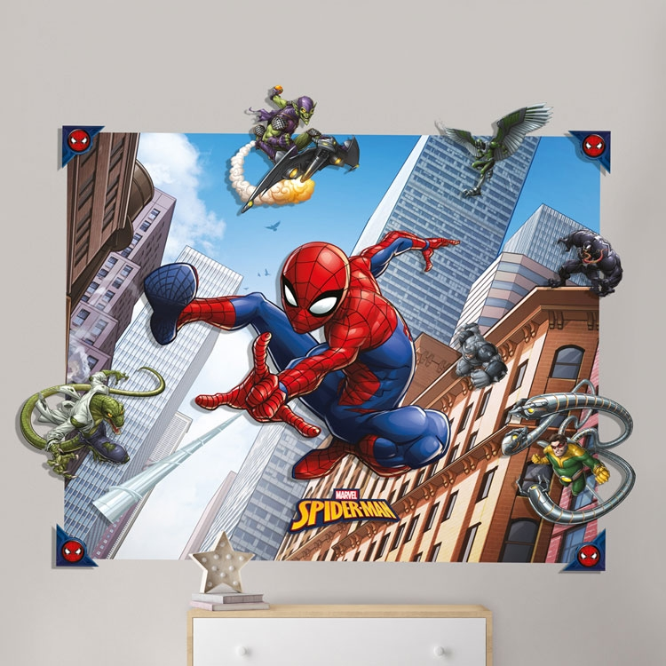 Walltastic Spiderman Pop Out behang