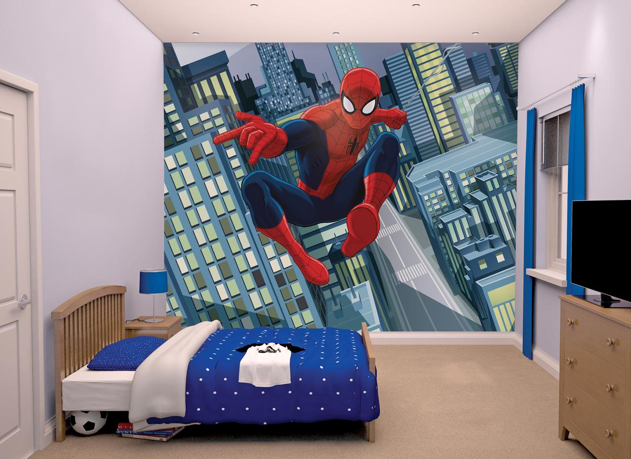 Walltastic Spectacular Spiderman XXL