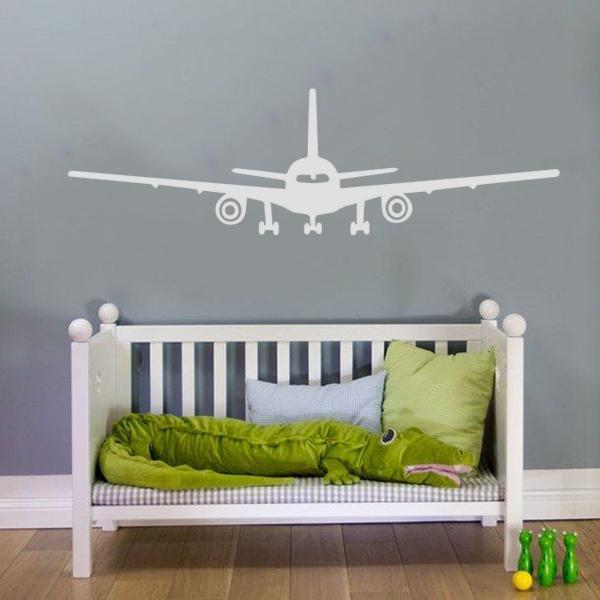 Interieursticker Vliegtuig