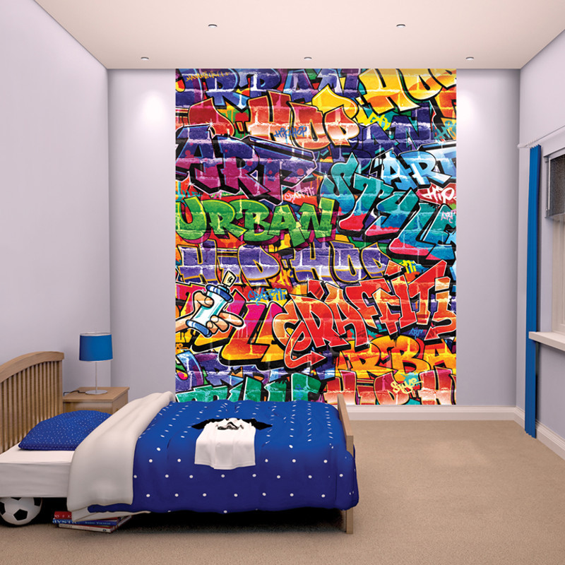 Walltastic Graffiti XL