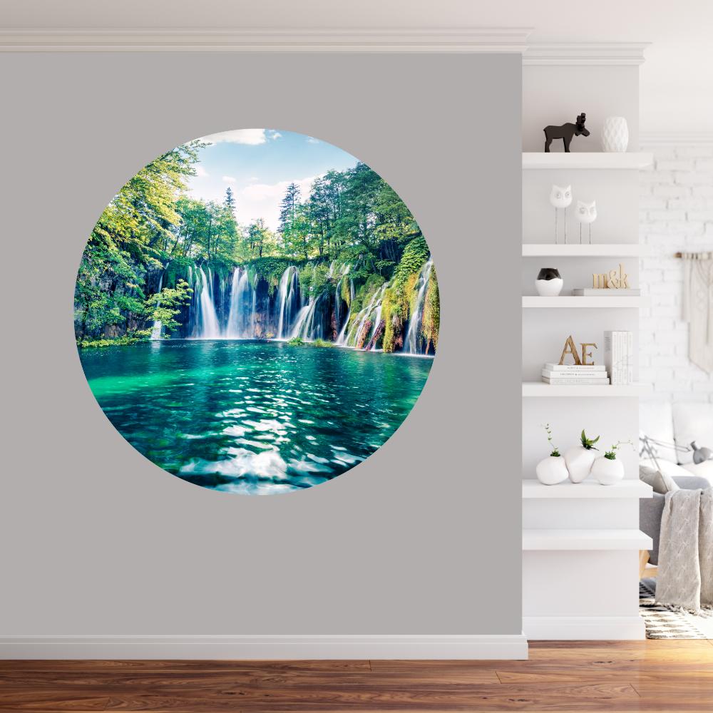 Behangcirkel Waterval