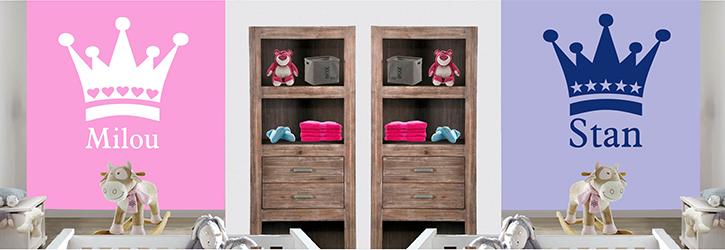 Naam Muursticker Babykamer.Speciale Collectie Muurstickers Voor De Babykamer